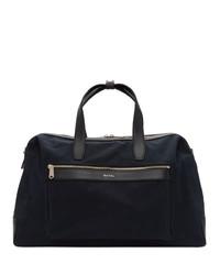 Bolso baúl de lona azul marino de Paul Smith