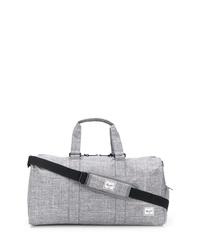 Bolso baúl de lona gris de Herschel Supply Co.