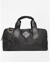 Bolso baúl de lona negro de Asos