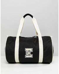 Bolso baúl de lona negro de Eastpak