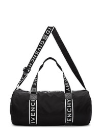 Bolso baúl de lona negro de Givenchy