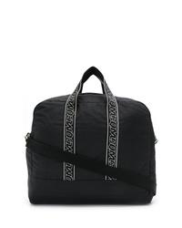 Bolso baúl de lona negro de McQ Alexander McQueen
