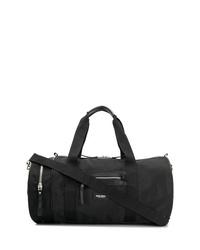 Bolso baúl de lona negro de Ron Dorff
