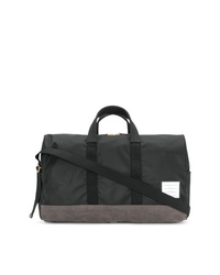 Bolso baúl de lona negro de Thom Browne