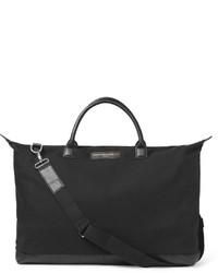 Bolso baúl de lona negro de WANT Les Essentiels