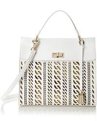 Bolso blanco de Versace