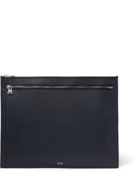 Bolso con cremallera azul marino de Tom Ford