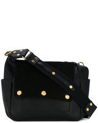 Bolso de ante negro de Isabel Marant