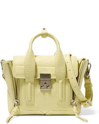 Bolso de cuero amarillo de 3.1 Phillip Lim