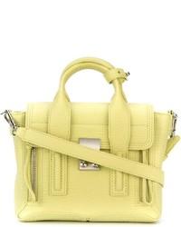Bolso de hombre de cuero amarillo de 3.1 Phillip Lim