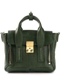 Bolso de hombre de cuero verde oscuro de 3.1 Phillip Lim