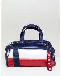 Bolso deportivo de cuero en multicolor de Tommy Hilfiger