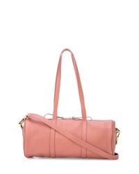 Bolso deportivo de cuero rosado de Mansur Gavriel