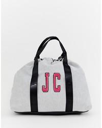 Bolso deportivo de lona gris de Juicy Couture