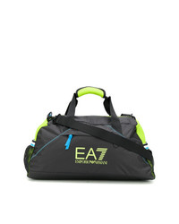 Bolso deportivo de lona negro de Ea7 Emporio Armani