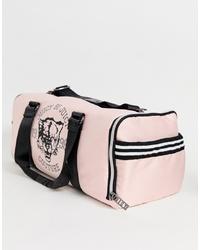 Bolso deportivo de lona rosado de Juicy Couture