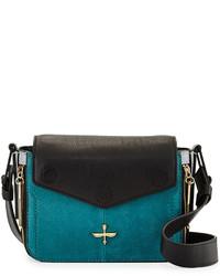 Bolso en verde azulado