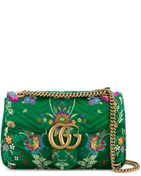 Bolso estampado verde de Gucci