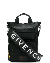 Bolso mensajero de lona negro de Givenchy