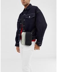 Bolso mensajero negro de Calvin Klein