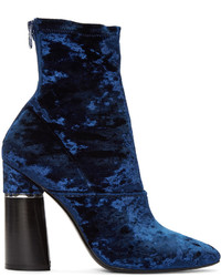 Botas a media pierna azul marino de 3.1 Phillip Lim