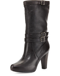 Botas a media pierna negras original 10270321