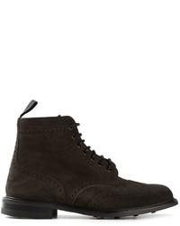 Comprar unas botas brogue en gris oscuro: elegir botas