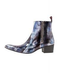 Botas Camperas Azules de Jeffery West