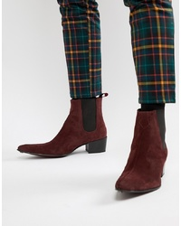 Botas camperas burdeos de Jeffery West