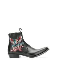 Botas camperas negras de Givenchy