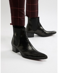 Botas camperas negras de Jeffery West