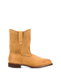 Botas casual de ante en tabaco de Red Wing Shoes