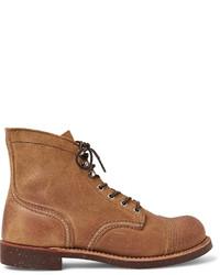 Botas casual de ante marrón claro de Red Wing Shoes