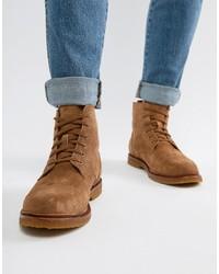 Botas casual de ante marrónes de Polo Ralph Lauren