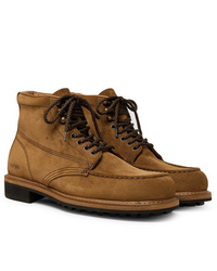 Botas casual de ante marrónes de Tom Ford