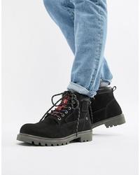 8d73966d0 Comprar unas botas casual de ante negras  elegir botas casual de ...