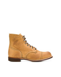 Botas casual de cuero en tabaco de Red Wing Shoes