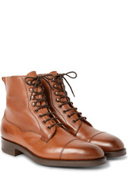 Botas casual de cuero marrón claro de Edward Green