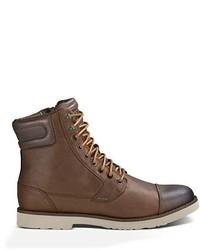 Botas casual de cuero marrónes