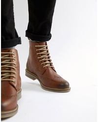 Botas casual de cuero marrónes de Barbour