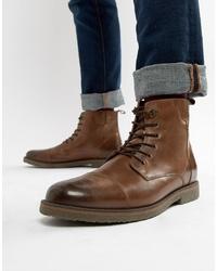 Botas casual de cuero marrónes de Pier One