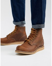 Botas casual de cuero marrónes de Red Wing