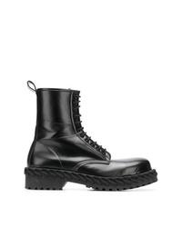 Botas casual de cuero negras de Balenciaga