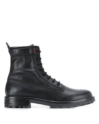 Botas casual de cuero negras de Diesel