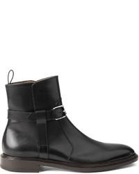 Botas casual de cuero negras de Givenchy
