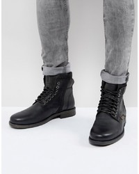 4dfd5fc47 Comprar unas botas de cuero negras Levi s