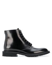 Botas casual de cuero negras de Saint Laurent