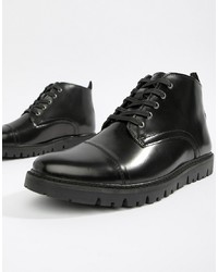 Botas casual de cuero negras de WALK LONDON