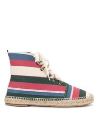 Botas casual de lona en multicolor de Loewe