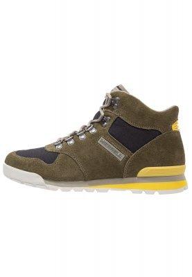 TOOGOO (R) NUEVOS zapatos de gamuza de cuero de estilo europeo oxfords de los hombres casuales 999 Marron(tamano 39) Pz5DsW